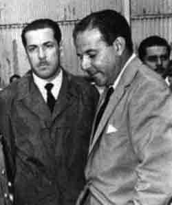 O presidente João Goulart e Leonel Brizola, então governador do Rio Grande do Sul