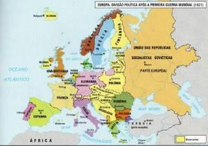 Europa após a guerra