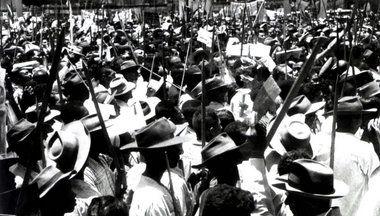 Protesto de camponeses em Pernambuco, 1960
