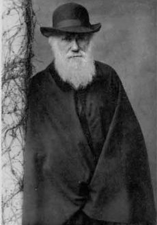 O naturalista Charles Darwin