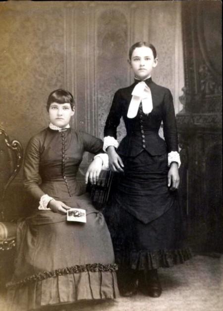 Um estranho hábito das famílias do século 19