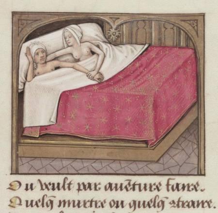 iluminura francesa do século 15