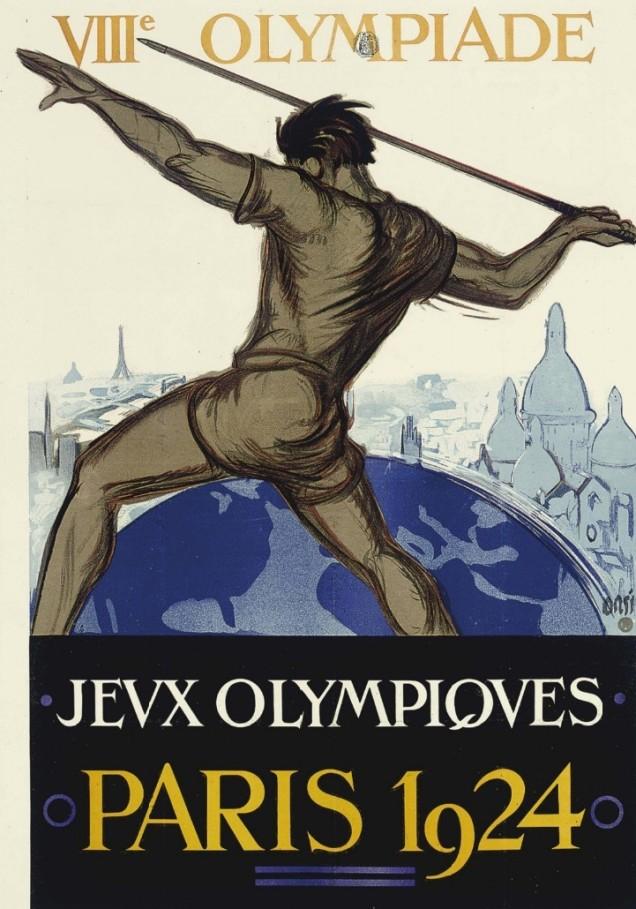 1924 - Mais uma vez Paris sediou os jogos.