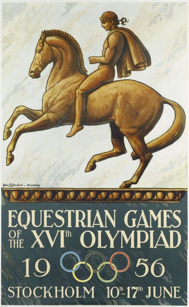 1965 - Como a Austrália estava mantendo uma quarentena preventiva para controle de uma epidemia em cavalos, as provas equestres ocorreram em Estocolmo, na Suécia.