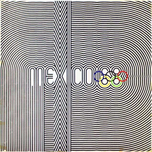 """1968 - A Cidade do México trouxe os jogos para o chamado """"Terceiro Mundo""""."""