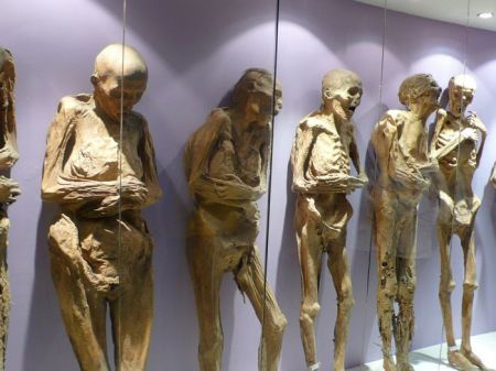Museum of the Mummies, Guanajuato, Mexico