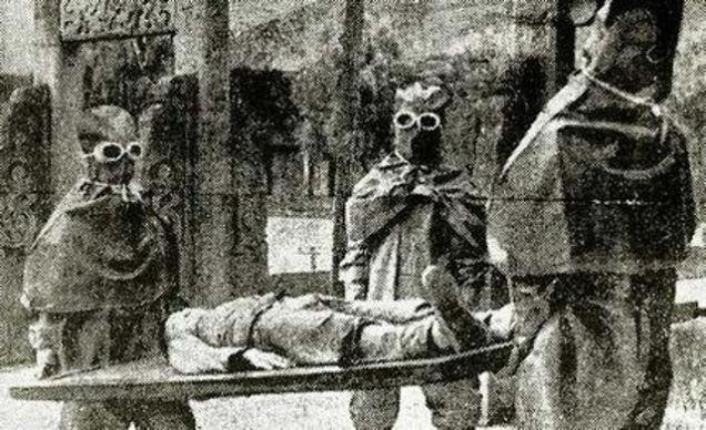 Integrantes da temida Unidade 731, do Exército Imperial do Japão, especializada em guerra biológica