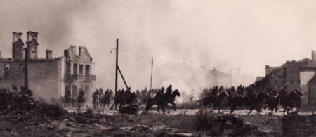Cavalaria polonesa na Batalha do Bzura, em 1939