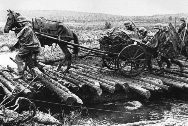 Soldados alemães na Criméia