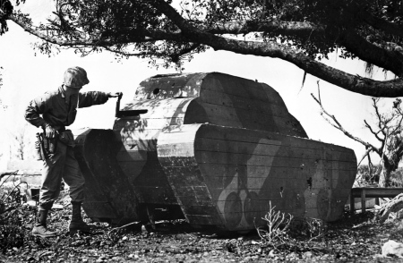 American Marine and Wooden Tank Decoy