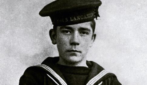 O marinheiro John Travers Cornwell